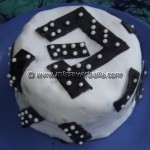 Gâteau Domino