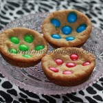 M&M caramel cookies