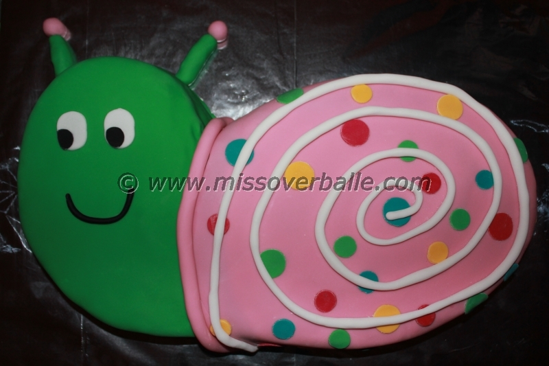 Snail Cake Miss Overballe