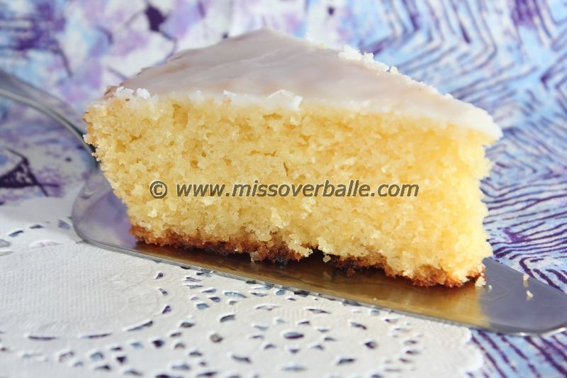 Bergamotte Tea Cake