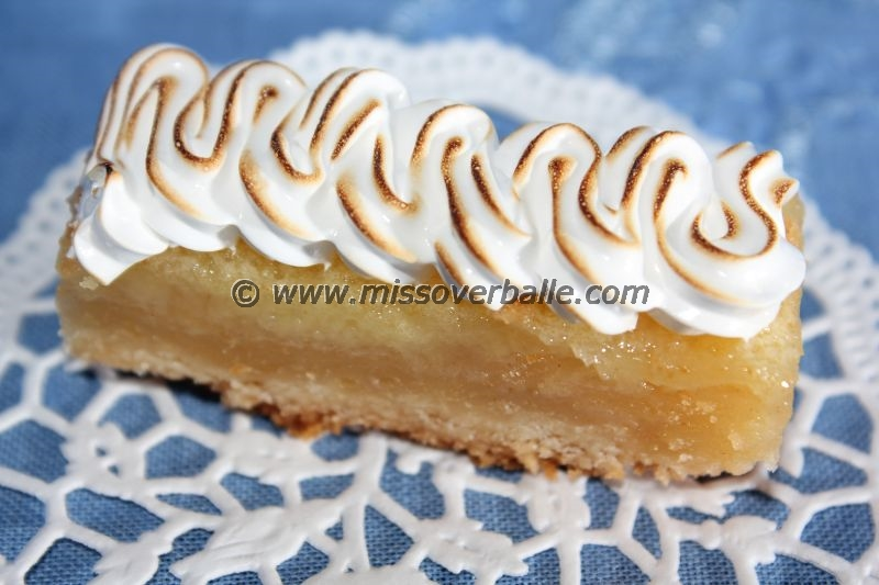 Bergamote Meringue Bars