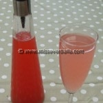 My Mum's Rhubarb Juice