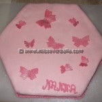 Housewarming Butterfly Cake