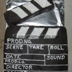 Clapperboard Cake