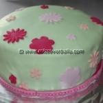 Softly Coloured Birthday Cakes