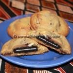 Oreo Stuffed Cookies
