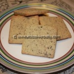 Liqourice Cut Out Cookies