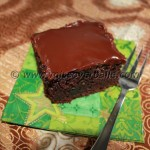 Guinness Chocolate Cake with Caramel and Chocolate Ganache
