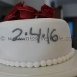 Robot Chemistry Wedding Cake